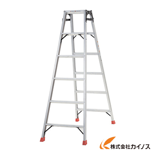 TRUSCO はしご兼用脚立 アルミ合金製脚カバー付 高さ1.69m TPRK-180