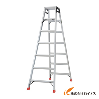 TRUSCO はしご兼用脚立 アルミ合金製脚カバー付 高さ1.98m TPRK-210