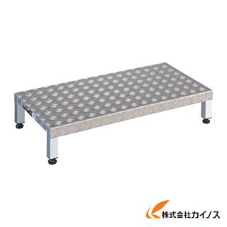 TRUSCO 高床用アルミ製ステップ 900X450XH190~220 TFSH-0945AL