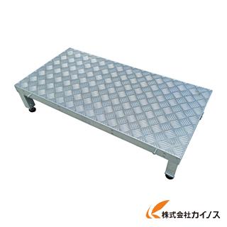 アルインコ 連結式アルミ作業用踏台1段(天板縞板タイプ)LFS LFS0604S