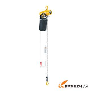 キトー エアホイスト懸垂形(単体:引きひも方式)標準揚程3m TCSH04CS