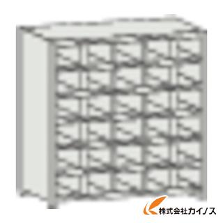 TRUSCO KA型区分棚コボレ止め付 889X214XH927 5列6段 KA-5063