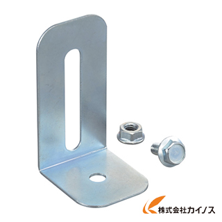 【50本セット】TRUSCO 軽量棚用 L型転倒防止金具 35X40X70 LBP-1
