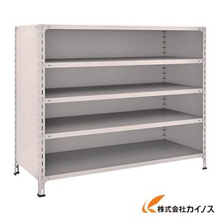 TRUSCO 軽量棚背板・側板付 W1500XD600XH1200 5段 45W-25 NG