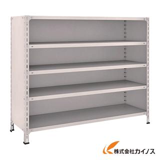 TRUSCO 軽量棚背板・側板付 W1500XD450XH1200 5段 45X-25 NG