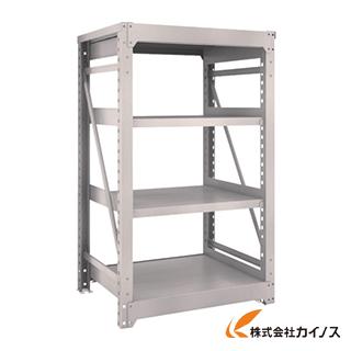 TRUSCO M10型重量棚 900X760XH1500 4段 単体 NG M10-5374 NG