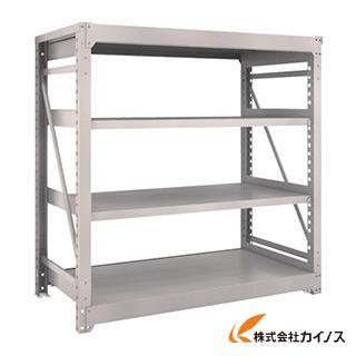 TRUSCO M10型重量棚 1500X760XH1500 4段 単体 NG M10-5574 NG