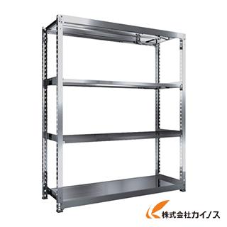 TRUSCO SM3型SUS棚 1800X571XH2100 4段 単体 SM3-7664