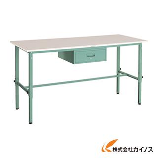 TRUSCO RAEM型高さ調節作業台 1800X750 1段引出付 RAEM-1800F1