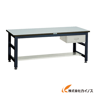 TRUSCO UTR型作業台 1800X900XH740 1段引出付 UTR-1890F1