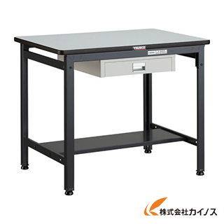 TRUSCO EWP型作業台 900X600XH740 薄型1段引出付 EWP-0960UDC1