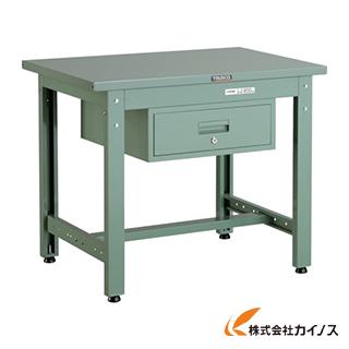 TRUSCO GWS型作業台 900X600XH740 1段引出付 GWS-0960F1
