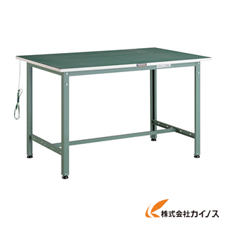 TRUSCO 帯電防止マット張りAE型作業台 1200X600 AE-1260D