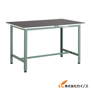 TRUSCO ゴムマット張りAE型作業台 1200X600 AE-1260G5