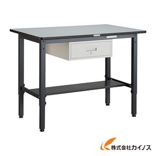 TRUSCO AWMP型高さ調節作業台 900X600XH740 1段引出付 AWMP-0960F1