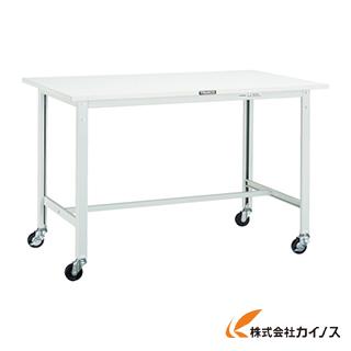 TRUSCO SAE型作業台 900X600 Φ75キャスター付 W色 SAE-0960C75