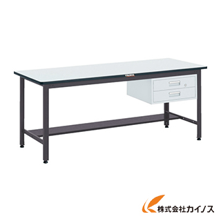 TRUSCO AEWS型作業台 900X600XH740 2段引出付 AEWS-0960F2