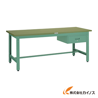 TRUSCO GWP型作業台 1800X900XH740 1段引出付 GWP-1890F1