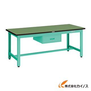 TRUSCO GWS型作業台 1800X900XH740 1段引出付 GWS-1890F1