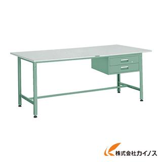 TRUSCO RAE型作業台 1800X750XH740 2段引出付 RAE-1800F2