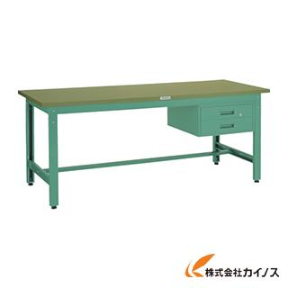 TRUSCO GWS型作業台 1800X750XH740 2段引出付 GWS-1875F2