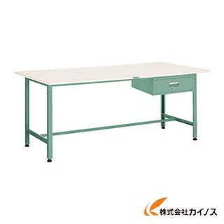TRUSCO AE型作業台 900X600XH740 1段引出付 AE-0960F1