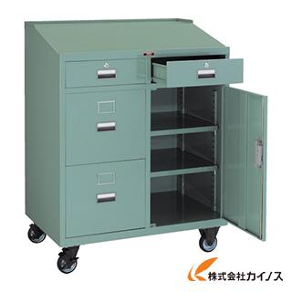 TRUSCO ワークデスク 900X600XH1100 キャスター付 TY-3520C