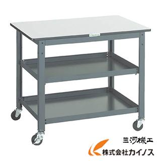 TRUSCO WHT型作業台補助テーブルワゴン 900X600XH740 WHT-6090