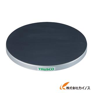 TRUSCO 回転台 150Kg型 Φ600 ゴムマット張り天板 TC60-15G
