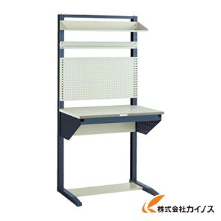 TRUSCO ライン作業台 片面 パネル・棚板型 W900 ULRT-900B