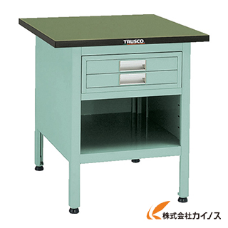 TRUSCO OW型小型作業台 2段引出付 900X750XH740 OW-9075E