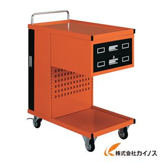 TRUSCO パンチングパネル付ツールワゴン 507X830XH1050 TVD-302R
