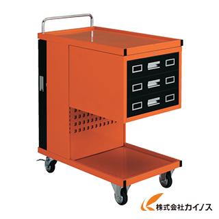 TRUSCO パンチングパネル付ツールワゴン 507X830XH1050 TVD-303R