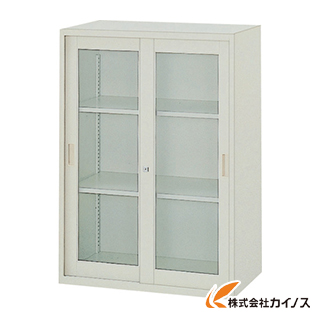 TRUSCO TZ型防錆強化保管庫 ガラス引違 H1050 TZJ-11