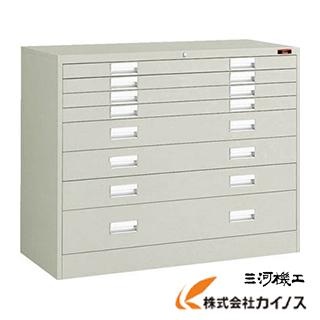 TRUSCO WUH型保管庫 1108X470XH880 引出X8 WUH-LL8W NG