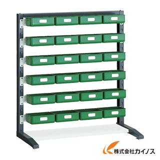 TRUSCO UPRラック片面 H1000 K-20HYG 24個付 UPR-L1006D