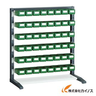 TRUSCO UPRラック片面 H1000 K-10HYG 48個付 UPR-L1006C