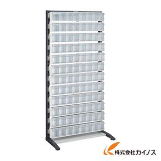 TRUSCO UPRラック片面 H1900 ポケットケース付 UPR-L1812E