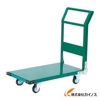 TRUSCO 鋼鉄製運搬車 1400X750 Φ200プレス車 緑 SH-1LN GN