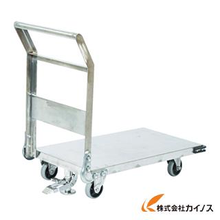 TRUSCO ステンレス鋼板製運搬車 固定式 1200X750 S付 SHS-1S