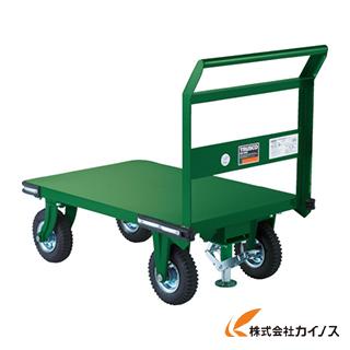 TRUSCO 鋼鉄製運搬車 900X600 Φ223空気入タイヤ 鋳物金具 S付 OHN-2ARS