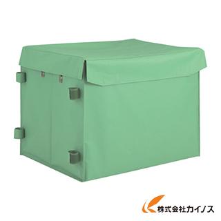 TRUSCO ハンドトラックボックス蓋つき650×470 THB-100E