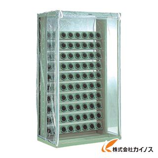 TRUSCO ツーリングラック 帯電防止カバー付 BT・NT40用 100個収納 VTL-1010B