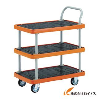 TRUSCO MKP樹脂製台車 2段式 906×616 MKP-304