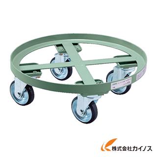 TRUSCO 円形台車 全周ガイド型 荷重500kg 台寸Φ610 RC-500