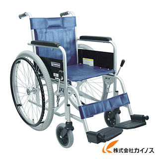 カワムラ スチール製車椅子 座幅42CM KR801N