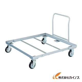 TRUSCO パレット台車 1200x1000 ハンドル付 PLK-05-1210H