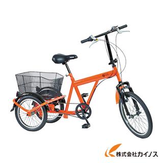 "TRUSCO 構内・災害時用ノーパンク三輪自転車 ""ハザードランナートライ"" THR5503"