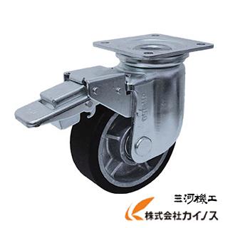 ヨドノ 重荷重用MCナイロン車付自在車ブレーキ付 YRRJMB150