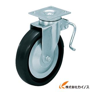 スガツネ工業 重量用キャスター径203自在ブレーキ付D(200-133-472) SUG-31-408B-PD